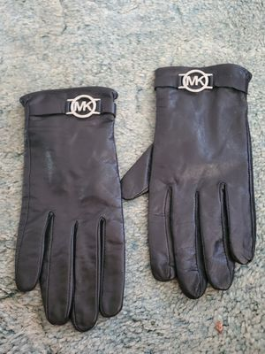 Michael Kors leather gloves size lg for Sale in Pittsburgh, PA
