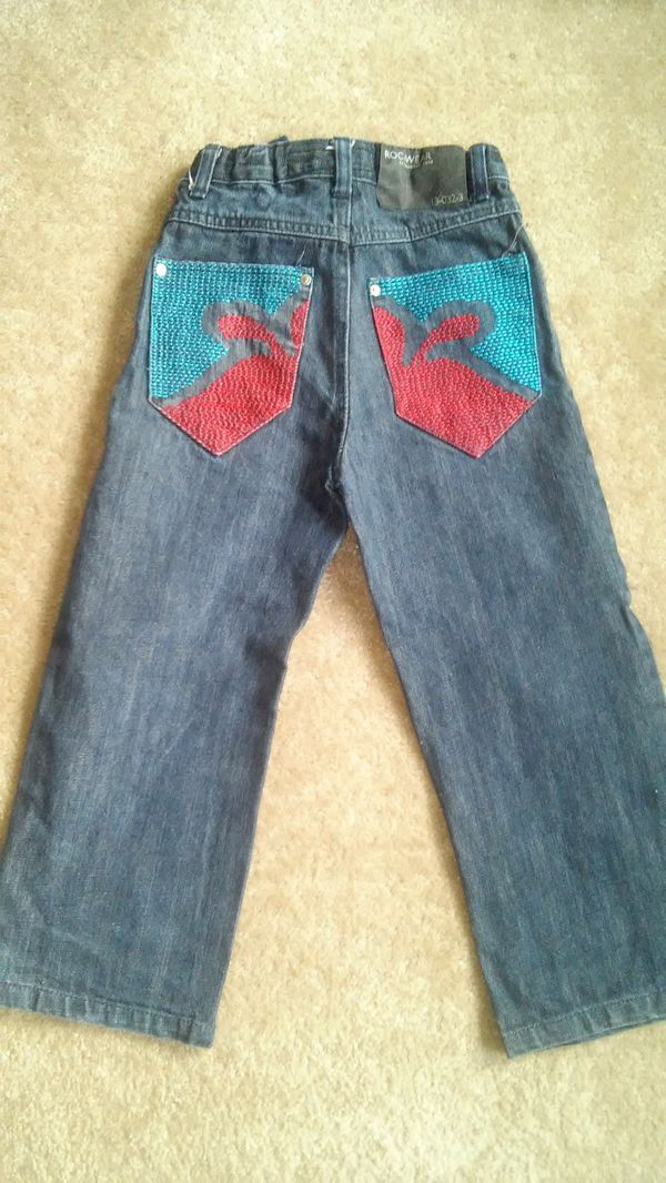 Boys size7 ™Rocawear jean like new