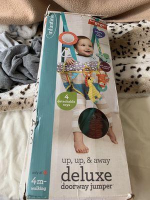Infantino Up, Up and away deluxe doorway jumper for Sale in Alexandria, VA