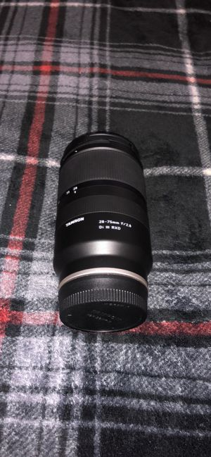 Tamron 28-75 f/2.8 Lens Only for Sale in New Britain, CT