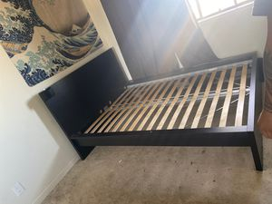 Full Size black bed frame for Sale in Campbell, CA