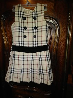 Little girl Burberry size 3 dress for Sale in Oakland, CA