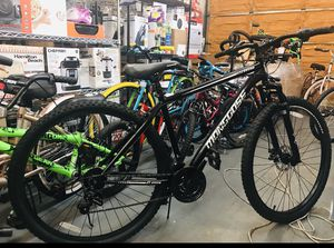 "Mongoose Excursion Mountain bike 21 speed 29"" wheels. Suspension fork, linear pull break for Sale in Atlanta, GA"