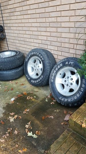 Rims and tires for Sale in Van Buren, AR