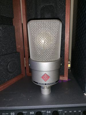 NEUMANN TLM-103 Condenser Studio Microphone with Case and Box for Sale in New Haven, CT