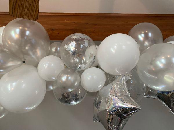 Balloon Arch - Birthday Celebration