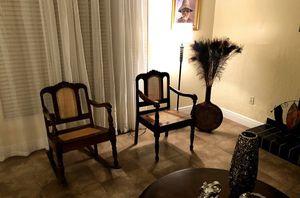 Vintage Wood Living Room Set for Sale in Miami, FL