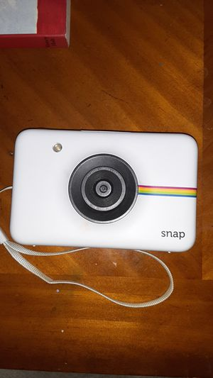 Zink Polaroid snap instant Digital camera ink printing technology for Sale in Mentor, OH