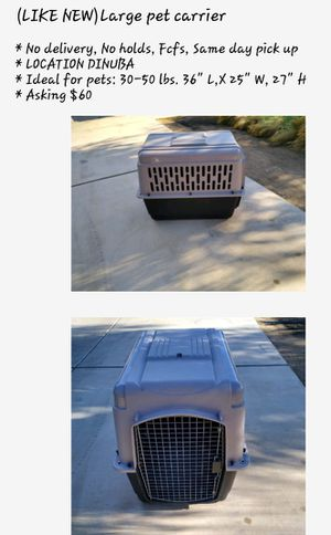 XL dog carrier $35 for Sale in Dinuba, CA