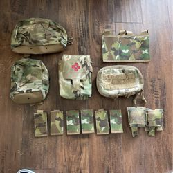 Military Issued Blue Force Gear Multicam Pouches for Sale in Seattle,  WA