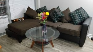 Sofa and center table for Sale in Norfolk, VA