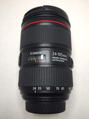 Canon 24-105mm, f4, mark ii for Sale in Los Angeles, CA