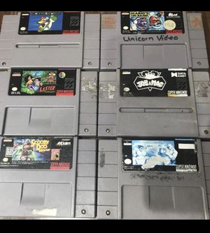 Super Nintendo Video Games for Sale in Chicago, IL