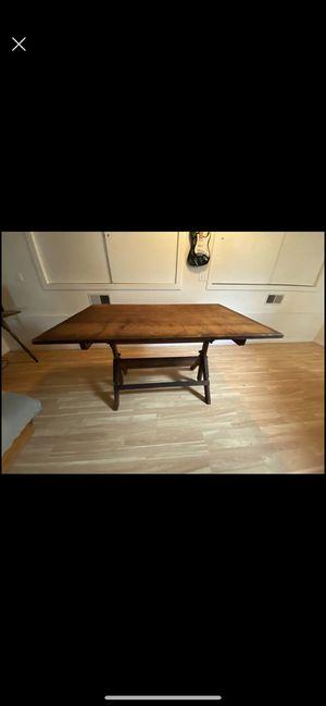 1920's Hamilton Drafting Table for Sale in Menifee, CA
