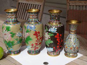 4 Cloisonné Vases for Sale in Chandler, AZ