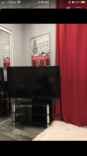 LG TV with stand for Sale in Sacramento, CA
