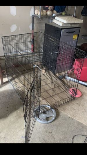 Medium Dog Crate Kennel Carrier with handle for Sale in Alexandria, VA