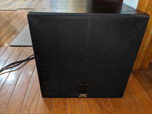 Onkyo receiver amplifier n JVC Woofer for Sale in Vineland, NJ