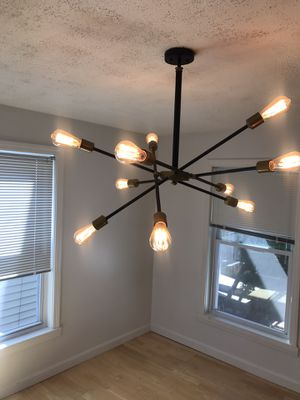 Light fixture set (4 pieces). If you are interested in buying individual pieces, that's doable too for Sale in Malden, MA