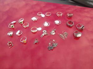 925 Silver Earrings & Rings for Sale in Randleman, NC