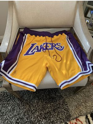 Just don Lakers shorts size large for Sale in Rolling Hills Estates, CA