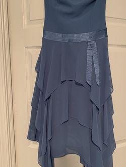 Liz Claiborne Blue Strapless Dress for Sale in Cumming,  GA