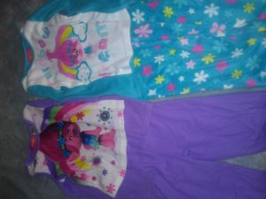 Girls size 6 flannel pajamas for Sale in Spring Hill, FL