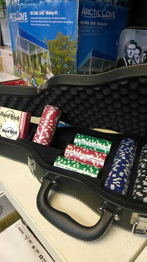 Hard rock Poker Chip violin case new never used for Sale in Miami, FL
