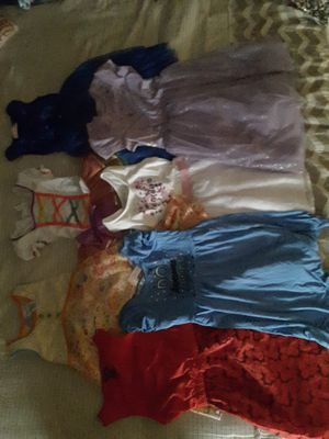 Girls dresses size 5,6 and 7 good conditions for Sale in Riverside, CA