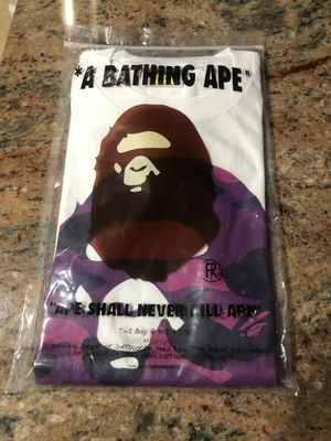 Bape big ape head new size large with bag for Sale in Byron, CA