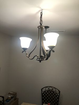 Chandelier great shape works fine ready to hang for Sale in Tinton Falls, NJ