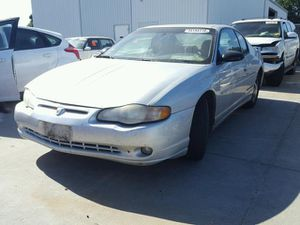 2003 CHEVROLET MONTE CARLO SS PARTING OUT CALL TODAY! for Sale in Rancho Cordova, CA