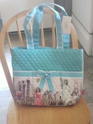 Beautiful Blue All around the World travel tote Bag for Sale in Pageland, SC
