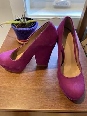 High heels suede size 7.5 Westies for Sale in Washington, DC