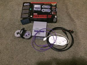 Super Nintendo mini SNES classic with over 2,350 games for Sale in Baltimore, MD