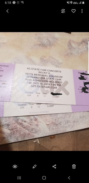 Becky G tickets for Sale in Glendale, AZ
