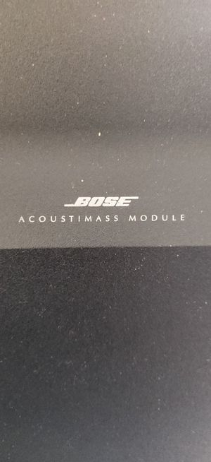 Bose Acoustimass 10 series Double cube speakers & Bass w/stands for Sale in Corona, CA