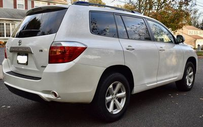 Perfectly Condition 2008 Toyota Highlander AWDWheels💎trhgrfeds for Sale in Alexandria,  VA