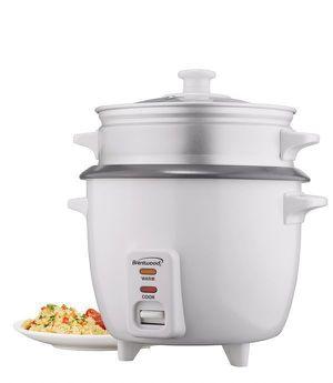 Brentwood 1.8 L Rice Cooker Steamer Kitchen Arrocera Vaporera Vapor 10 Tazas TS-380S for Sale in Miami, FL