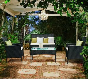Costway 4 PC Outdoor Patio Set. Firm Price. for Sale in Boca Raton, FL