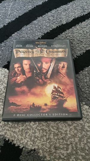 Pirates of the Caribbean The Curse of the Black Pearl Movie for Sale in Fremont, CA