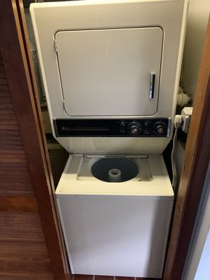 Maytag stacked electric washer and dryer for Sale in Westville, NJ