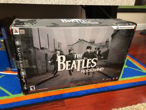 Beatles RockBand Limited Edition PS3 for Sale in Davie, FL