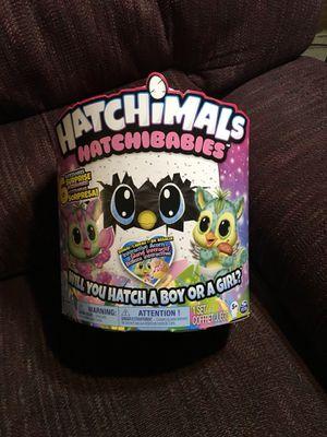 New Hatchimal Hatchibabies with BONUS Interactive Acorn for Sale in Waldo, OH