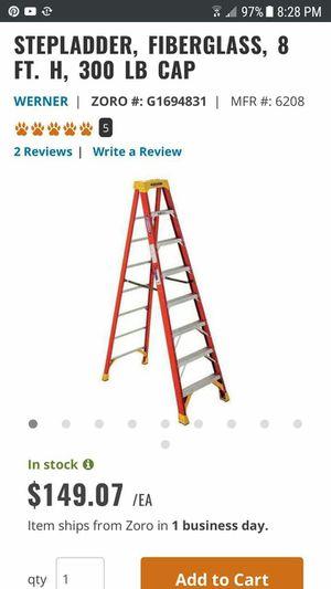 8 feet long ladder for Sale in Salt Lake City, UT