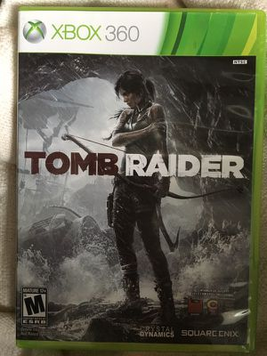 Tomb Raider Xbox 360 Game Case for Sale in Chicago, IL