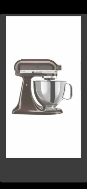 BRAND NEW (COLOR EXPRESSO IN PIC) KITCHEN AID SEALED! for Sale in Delray Beach, FL
