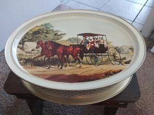 "Vintage Currier and Ives Tin 14.5"" x 11.5"" for Sale in Orlando, FL"