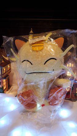 Pokemon Happy Meowth Plush for Sale in Tacoma,  WA