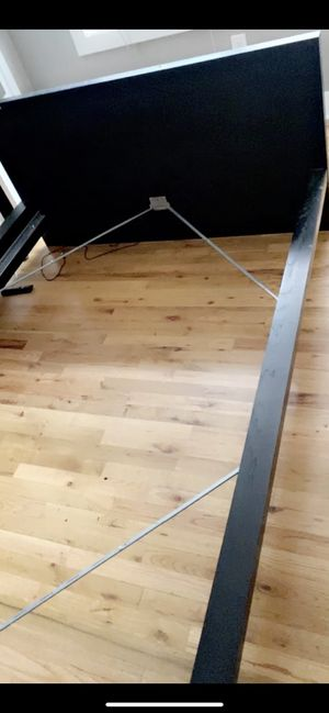Black bed frame for Sale in Portland, OR
